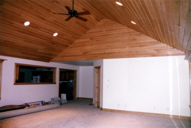 Addition to an existing home interior photo