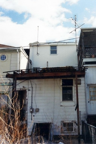 Rear of building prior to remodel